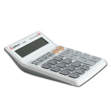 齐心 计算器,C-868 中大台 舒视语音王 白 单位:台
