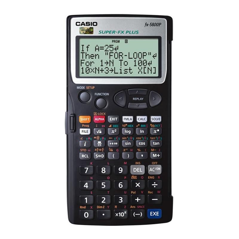 卡西欧 计算器,计算器FX-5800P