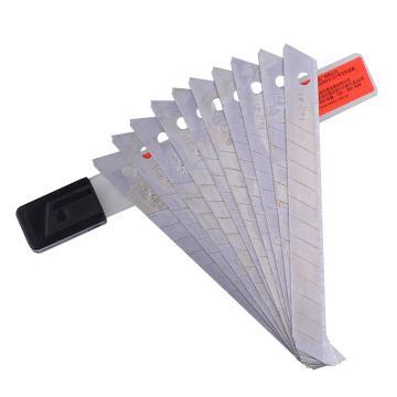益而高 美工刀片,9mm EG-059S 单位:盒