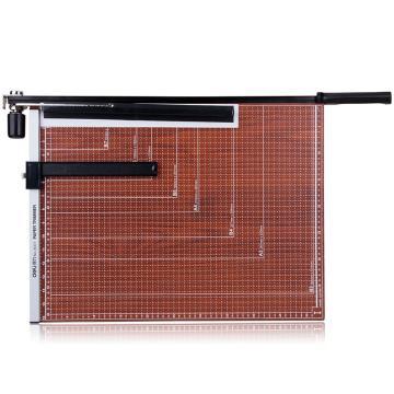 得力(deli)木质切纸刀8001 裁纸刀切纸机铡刀裁纸器裁纸机 可切B3纸 单位:把