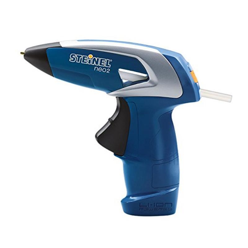 司登利STEINEL 充电式热熔胶枪,3.6V锂电,7mm胶条,NEO-2