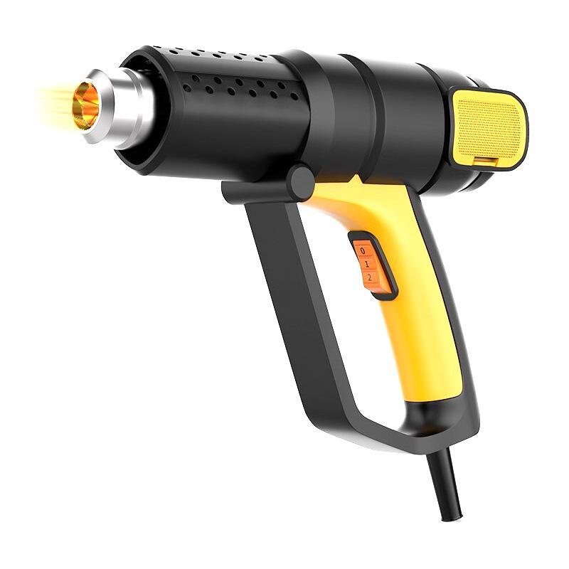 得力 数显调温热风枪,2000W,DL391200