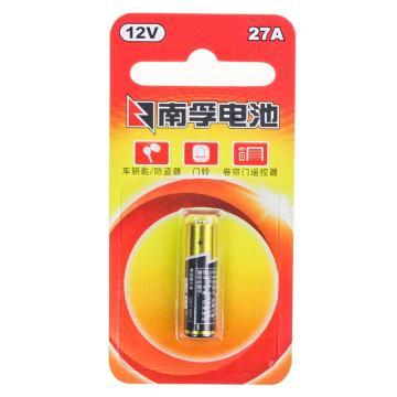 南孚 碱性电池,27A 12V 单位:粒