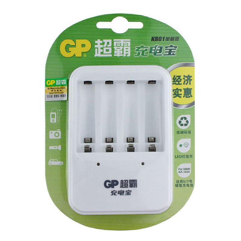 超霸 充电器, GPKB01GW130-2IL4(附4节5号镍氢充电电池) 单位:套