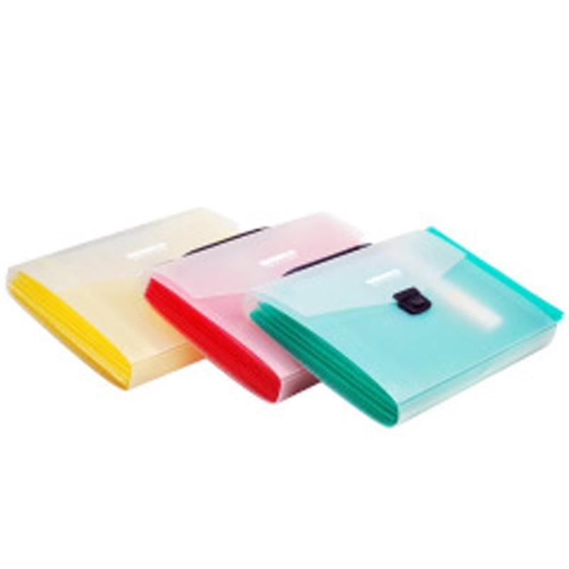 晨光 M&G 风琴包,AWT90929 A4 背宽40mm 12层 (红/黄/绿,颜色随机) 单位:个