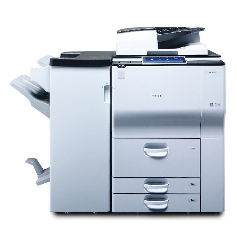理光(Ricoh)黑白数码复合机,MP9003SP A3(主机+送稿器+小册子装订器)