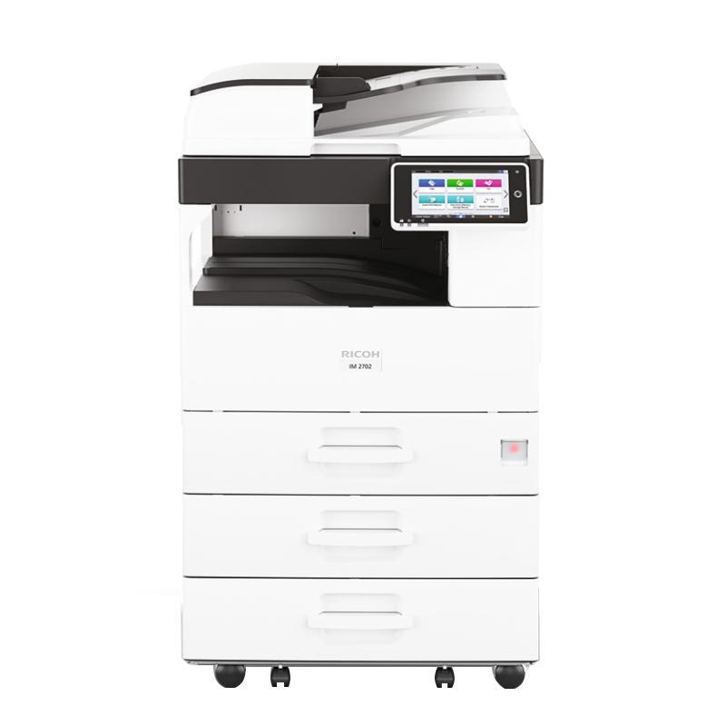 理光(Ricoh)黑白数码复合机,M 2702 A3(主机+送稿器+三纸盒)