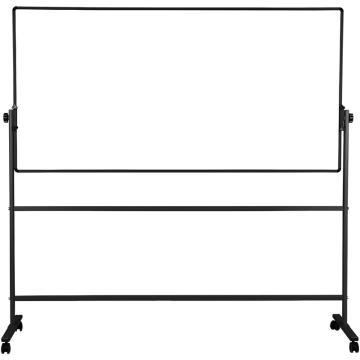 得力 H型双面白板,900*1800(银灰)(块) 7884H型,含支架,单位:块