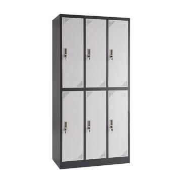 六门更衣柜,1850*900*500 钢板0.8mm 仅限上海