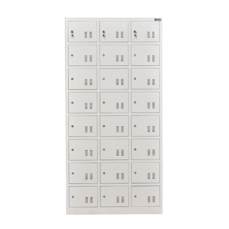 新明辉推荐 二十四门更衣柜,钢板厚度0.6 ZY-G025 1800*900*350钢制