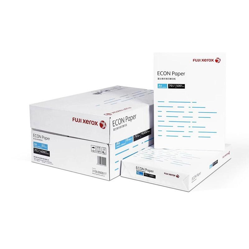 富士施乐 易印复印纸,ECON Paper A4 70克(仅限新疆区域下单)