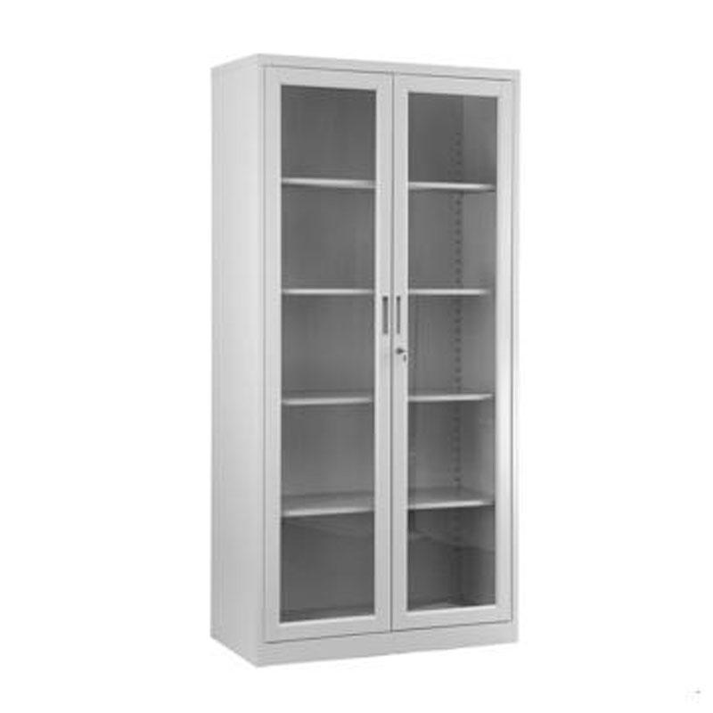 新明辉推荐,玻璃开门柜,1200*300*1800,钢板0.8mm,五层