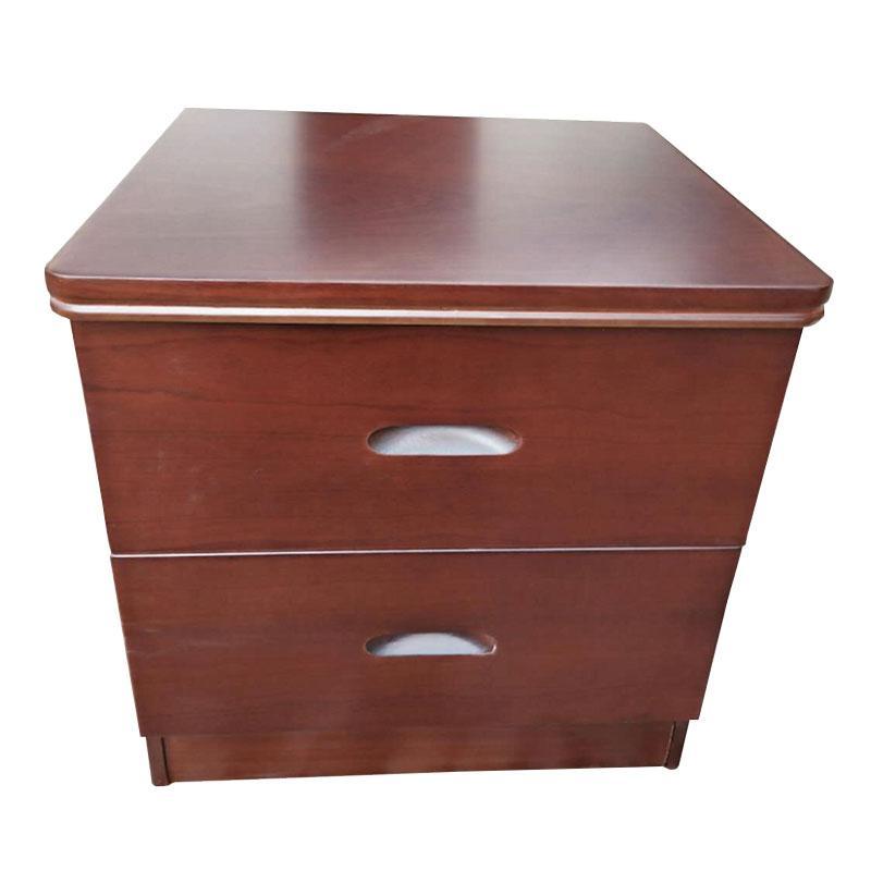 床头柜,实木深色