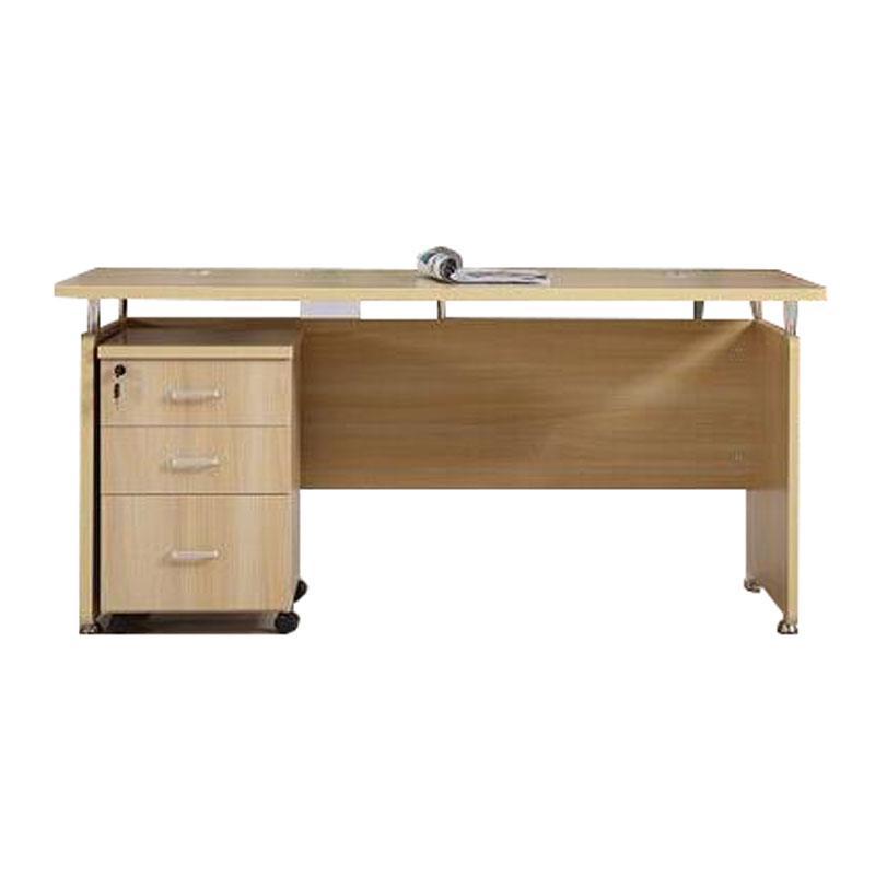 办公桌,1600*700*750含三抽柜