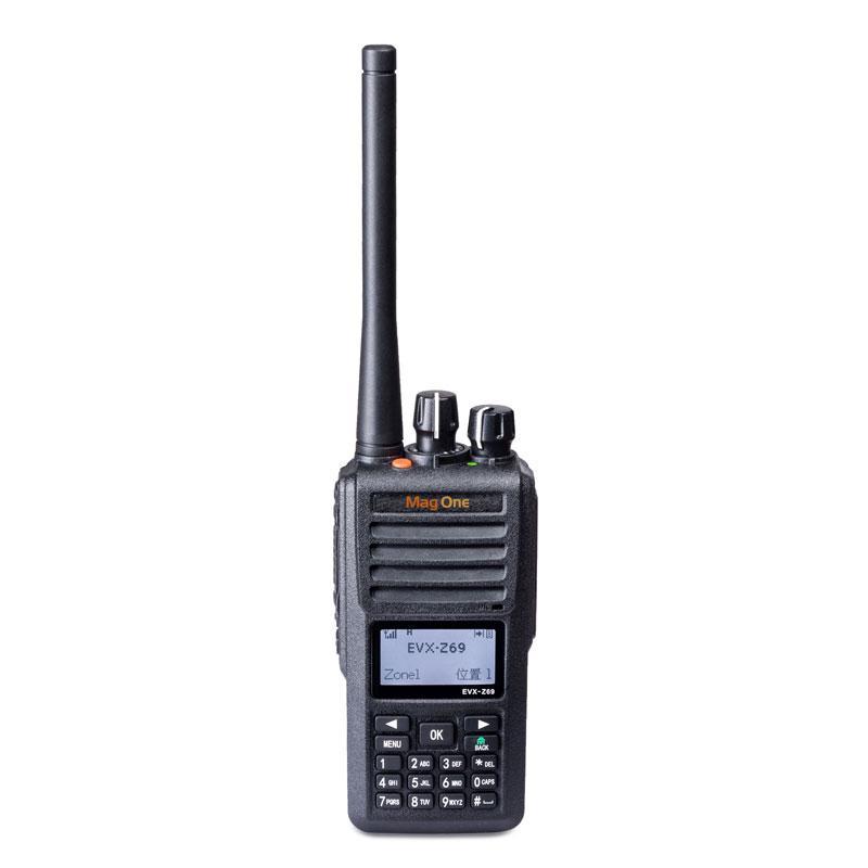 摩托罗拉 数字对讲机,Mag One EVX-Z69( DMR录音250小时数字对讲机)数模兼容 防水防水高性能
