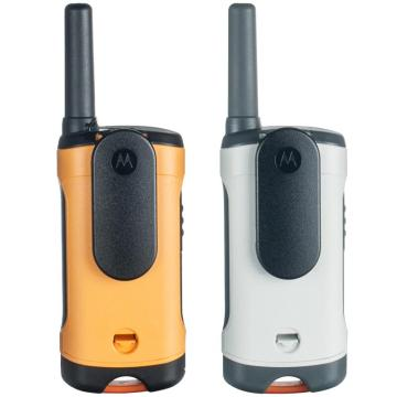 摩托罗拉 民用对讲机,免执照对讲机 T50 原装标配0.5W 两只装(出厂频点,无法调频)