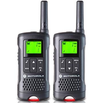 摩托罗拉 民用对讲机, 免执照对讲机 T60 原装标配0.5W 两只装(出厂频点,无法调频)