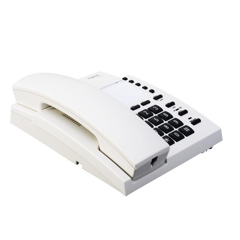 集怡嘉有绳带免提电话机,812 单位:台 白色