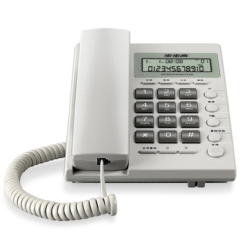 步步高来电显示电话机,6082 单位:台 白色
