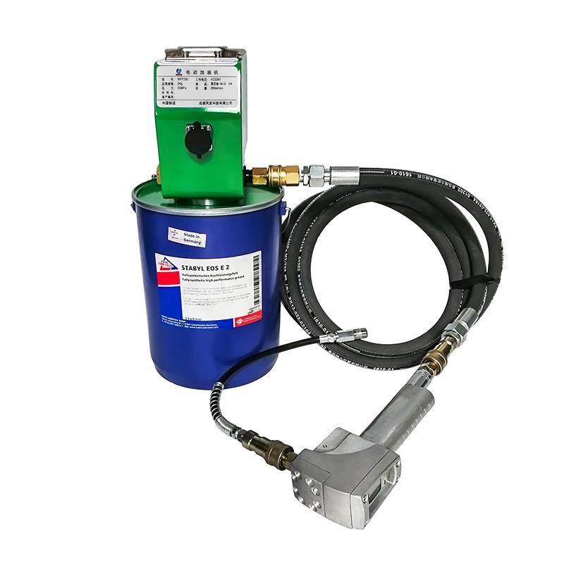 风发科技 电动加油机 适于5kg油脂桶 油管6米 WFP200