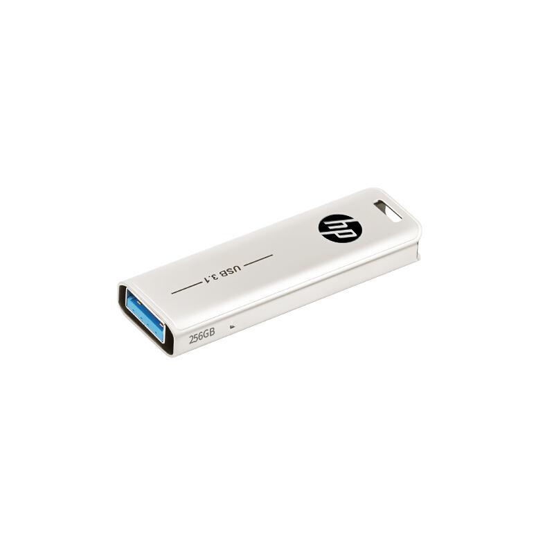 惠普U盘,X796w 64G USB3.1 香槟金 电脑车载两用优盘