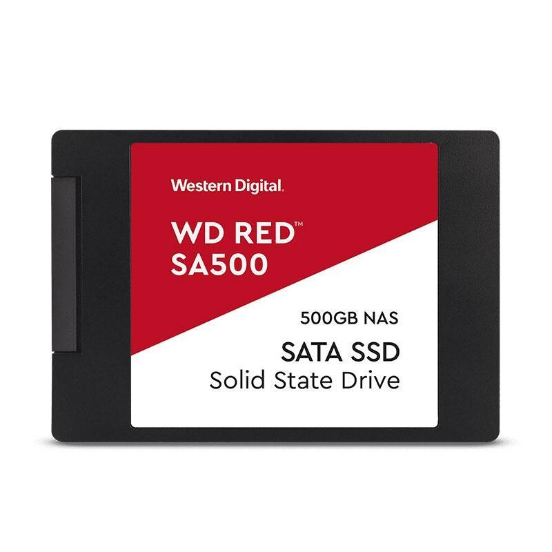 西部数据红盘SSD,WDS500G1ROA 500G SATA接口