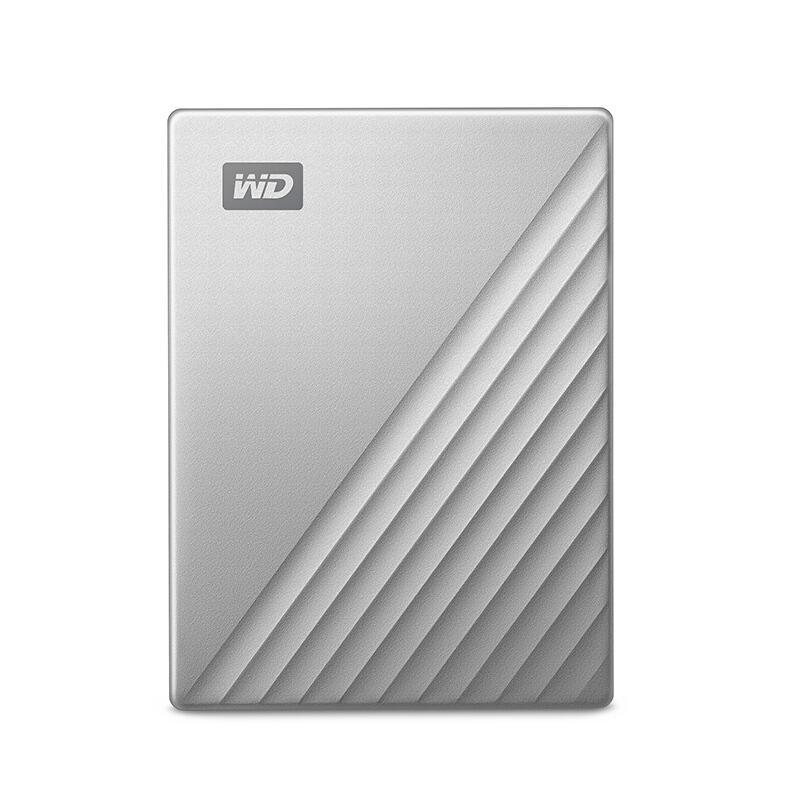 西部数据硬盘,MY PASSPORT系列 移动硬盘 WDBC3C0020BSL 2TB 银色