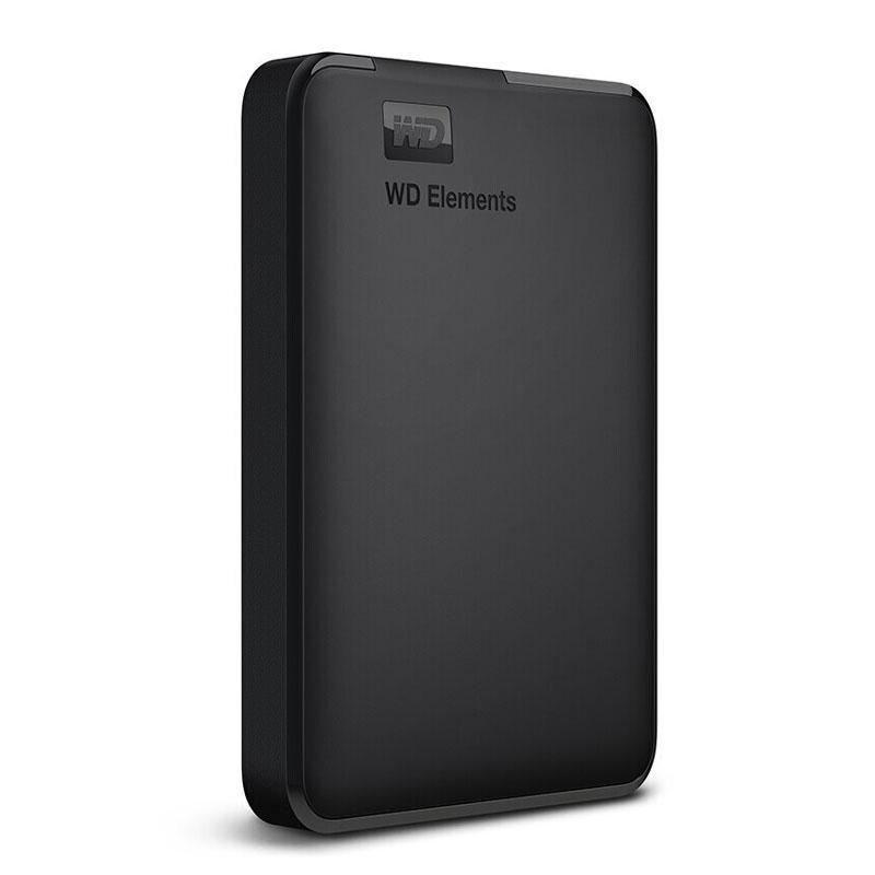 西部数据移动硬盘,WDBUZG0010BBK 2.5寸 1T USB3.0 Elements 新元素系列 黑色