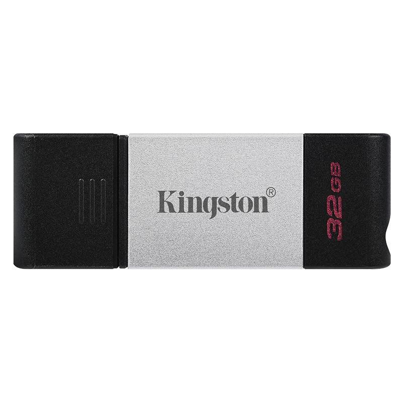 金士顿(Kingston)32GB USB3.2 Gen1 DT80 Type-C 手机U盘 读速200MB/s