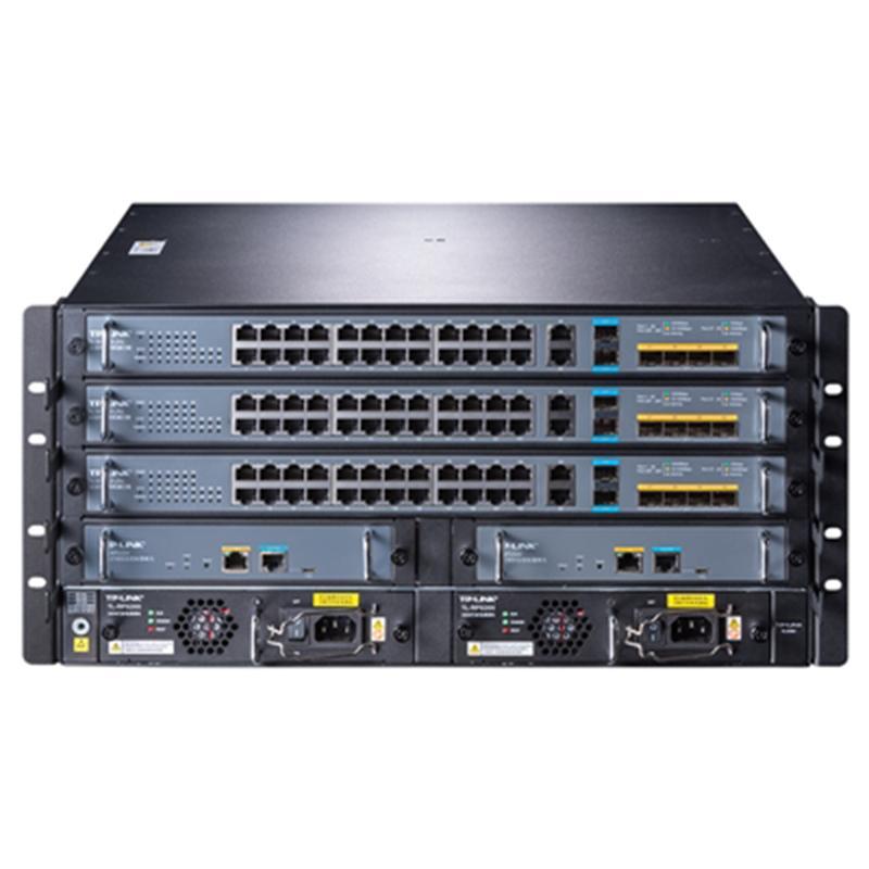 普联(TP-LINK)多业务机框式智能路由交换机 TL-S7803 双主控 双电源