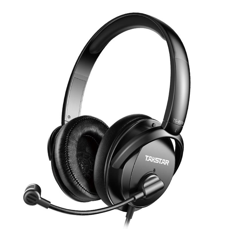 得胜动圈式话务语音立体声耳机,TS-450M