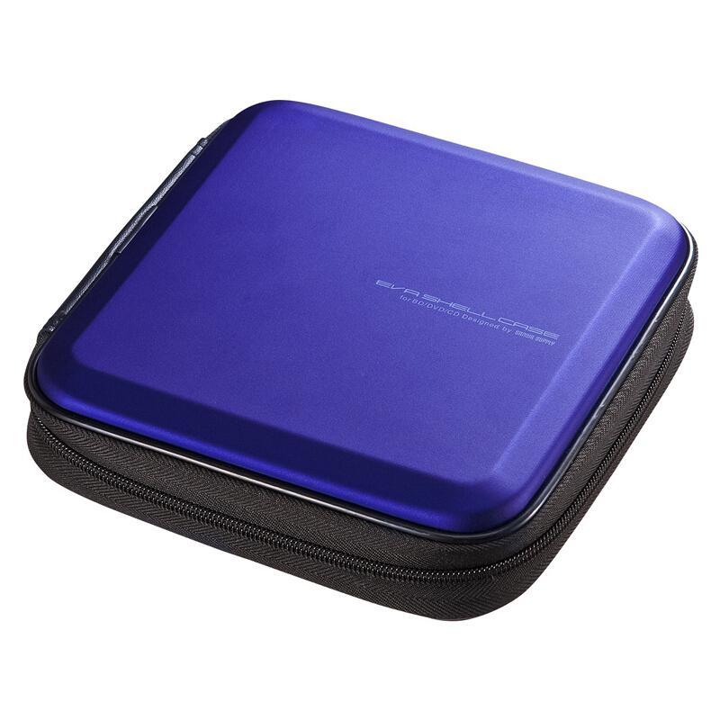 山业SANWA SUPPLY CD/DVD收纳盒 24枚 抗震 蓝光FCD-WLBD24BL 1个