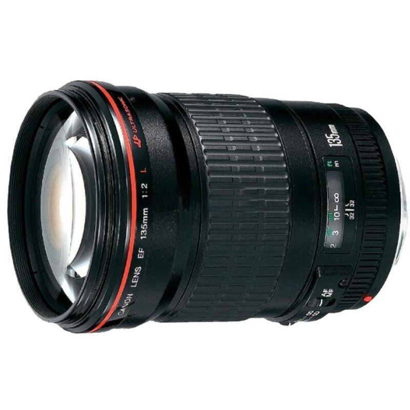 佳能Canon 数码单反镜头,远摄定焦镜头 EF 135mm f/2L USM