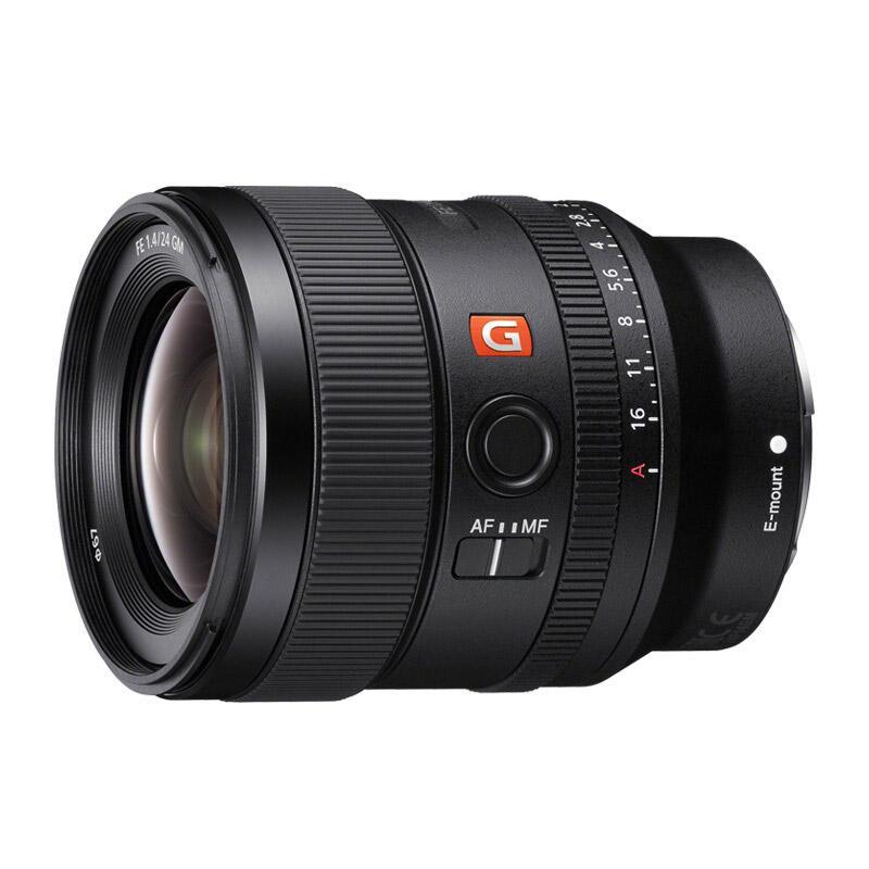 索尼全画幅广角定焦镜头,FE 24mm F1.4 GM