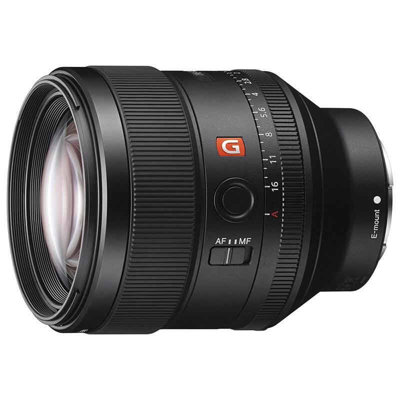 索尼全画幅中远摄定焦镜头,FE 85mm F1.4 GM