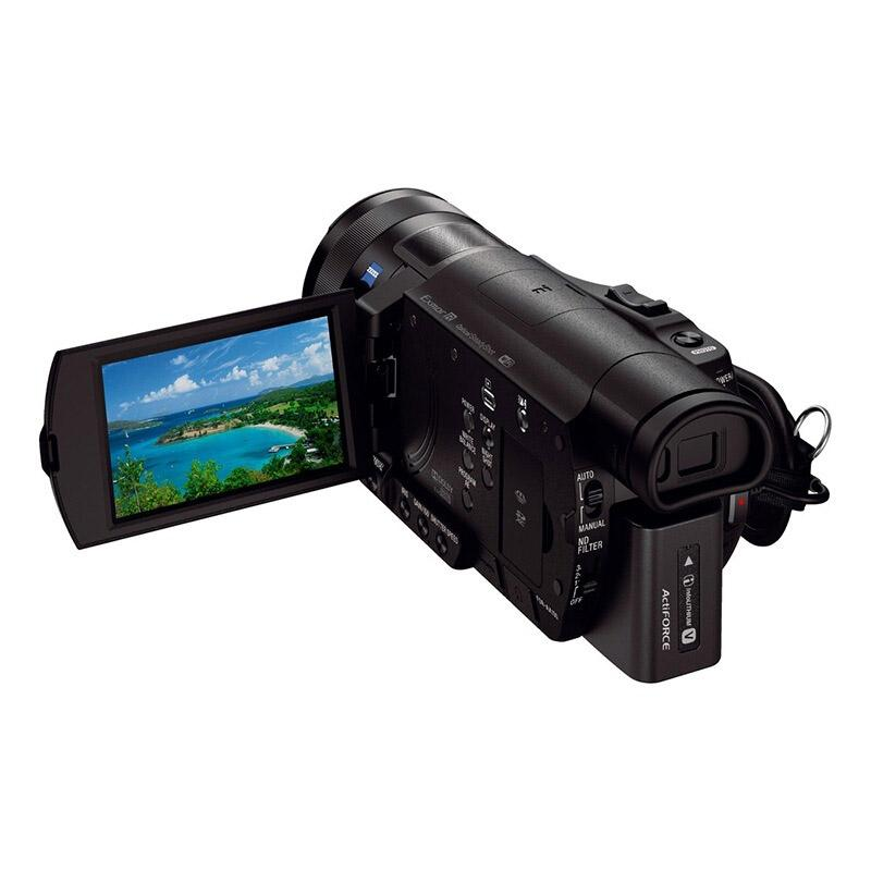索尼高清数码摄像机,约300万以上像数 12倍光学变焦 FDR-AX100E
