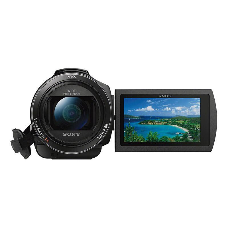 索尼高清数码摄像机,约601万以上像数 20倍光学变焦 FDR-AX45