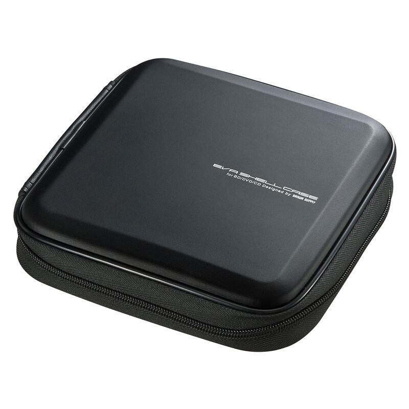 山业SANWA SUPPLY CD/DVD收纳盒 24枚 抗震 蓝光FCD-WLBD24BK 1个