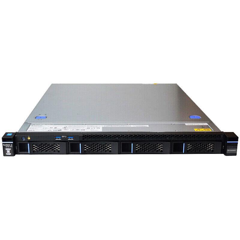 联想服务器,x3250 M6, E3-1220v6 ,8G 1T 4*1G网卡无光驱3年 Svr 2016降级2012(升级型号为SR258)