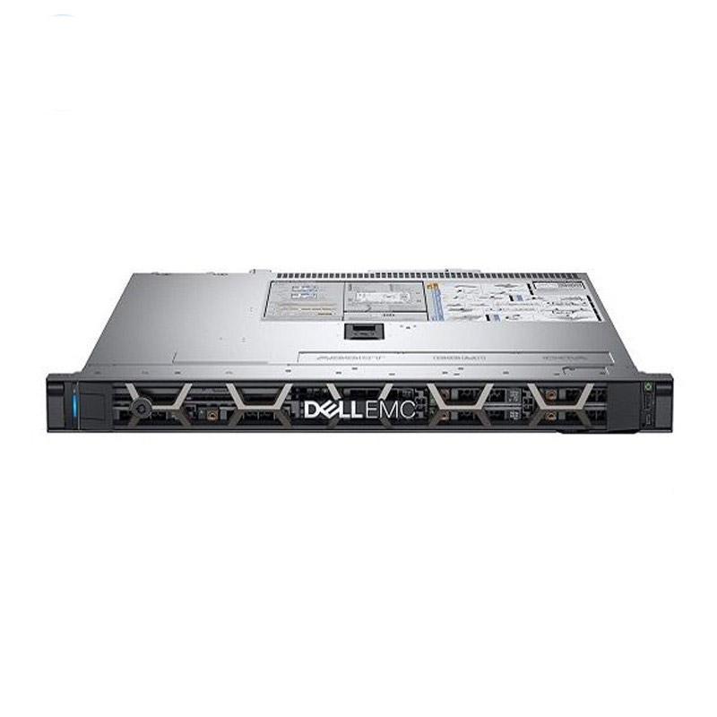 戴尔机架式服务器,R340 E-2224G/8GB*2/1TB SATA 7.2K*2/Riser/550W/1U静轨/不含系统