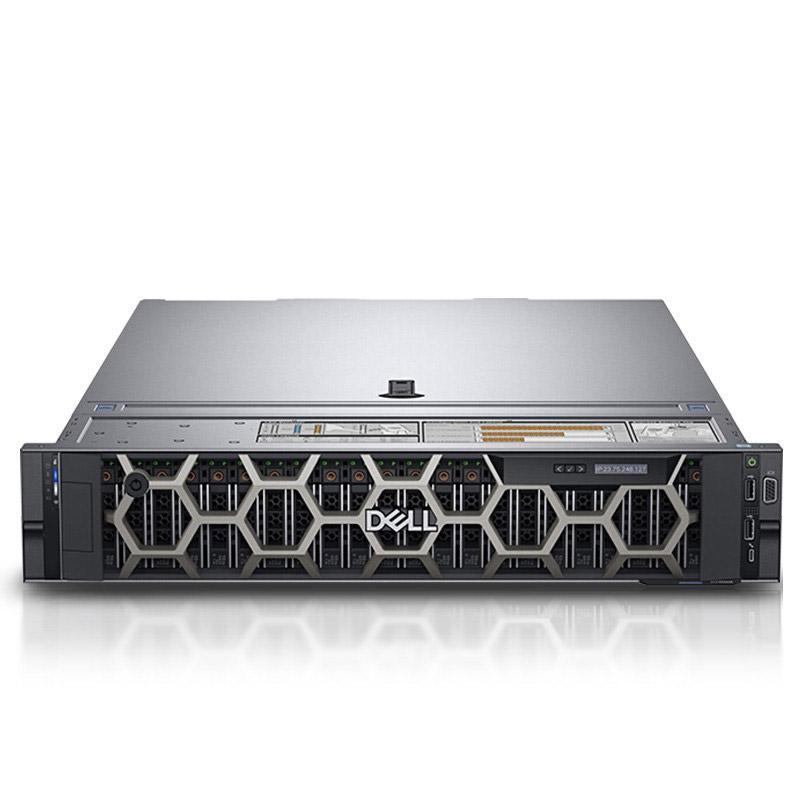 戴尔机架式服务器,R740 银牌4210R*2/32GB*2/1.2TB*4/H330/Riser1/5720QP/750W/2U静轨/不含系统