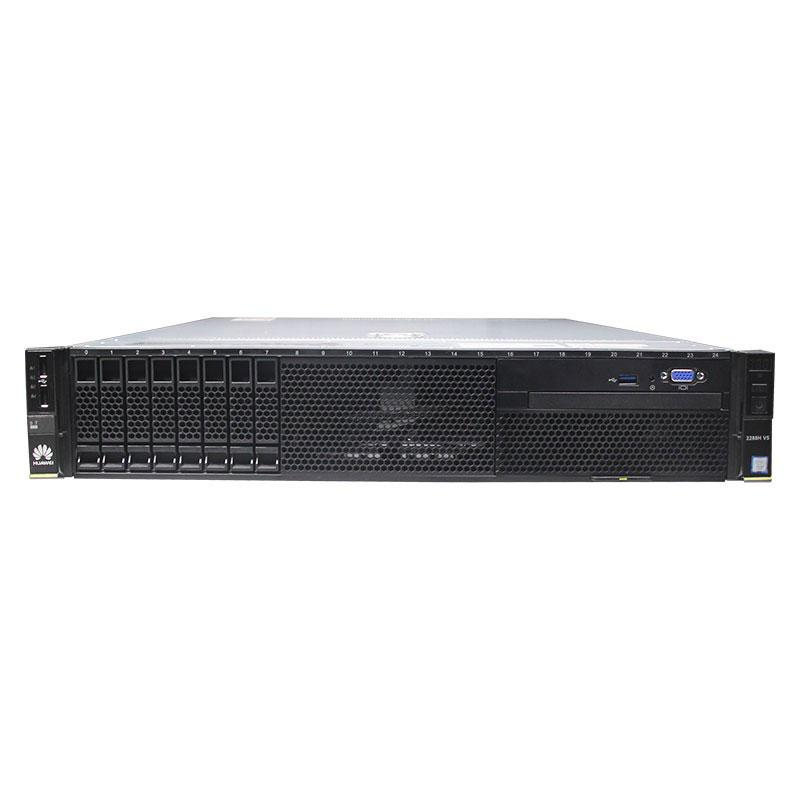 华为服务器,FusionServer 2288H V5 2*至强银牌4110 2*32G 1*960G SSD 6*4T SATA 2*550W 导轨 12盘