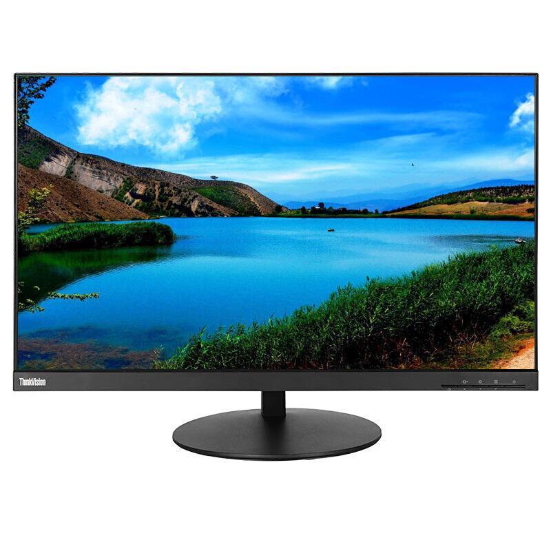 联想 显示器 P27 Q 27英 2K电脑显示器 QHD IPS屏 旋转升降 窄边框 HDMI+DP+USB接口