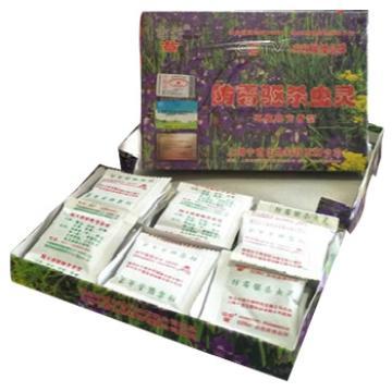 车云草 防霉驱杀虫灵, 档案盒杀虫灵 家庭收纳防虫蛀纯天然 30小包/盒x30盒/箱 单位:箱