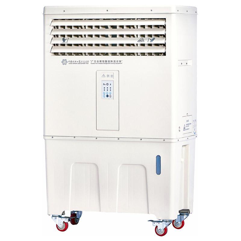 科叶 移动型蒸发式冷风机,LC-80Y3,220V,8000m3/h,储水量120L,变频3档电子控制。木架包装
