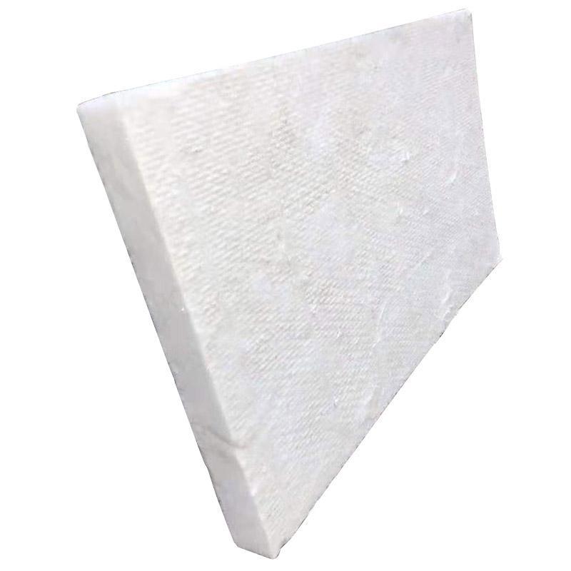 国瑞 离心甩丝硅酸铝纤维板,1000*600*100mm,每包4片,90kg/m3,耐高温860℃