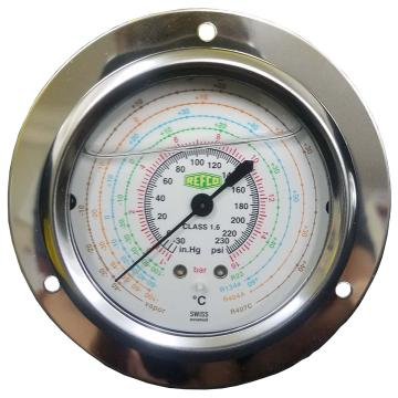 REFCO 带油压力表 ++MR-205-DS-MULTI-16BAR++ 产品代码7230587