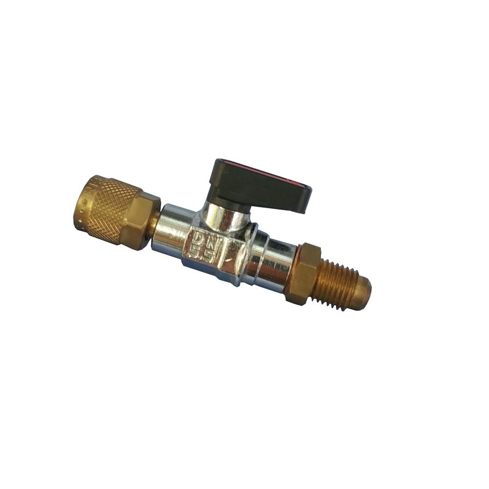 REFCO 充气软管角阀,CA-1/4SAE-Y,订货号4493738