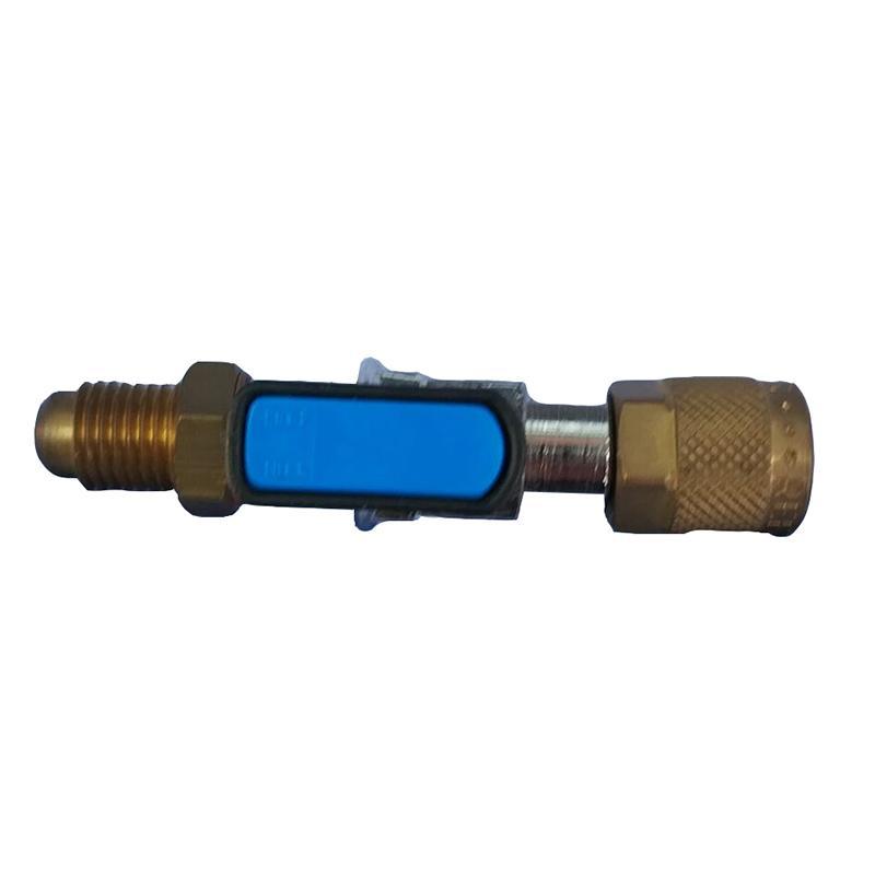 REFCO 充气软管角阀,CA-1/4SAE-B,订货号4493525