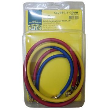 REFCO 充气管(R410a三色) CCL-36-1/2-20UNF 产品代码9884094